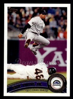 2011 Topps #139  Eric Young Jr.