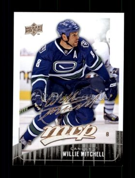 2009 Upper Deck MVP #19  Willie Mitchell