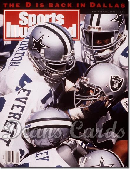 1992 Sports Illustrated - No Label   November 16  -  Ken Norton & Thomas Everett (Dallas Cowboys)