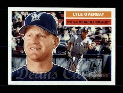 2005 Topps Heritage #335  Lyle Overbay