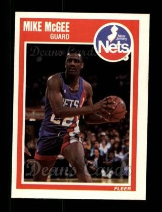1989 Fleer #98  Mike McGee