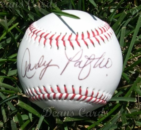 Andy Pafko Autographed Ball