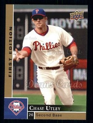 2009 Upper Deck First Edition #227  Chase Utley