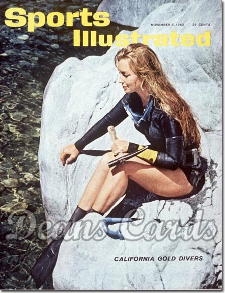 1962 Sports Illustrated - With Label   November 5  -  Mary Anderson Skindiving