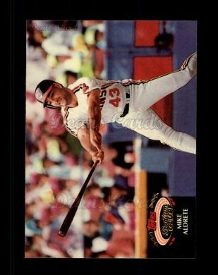1992 Topps Stadium Club #305  Mike Aldrete