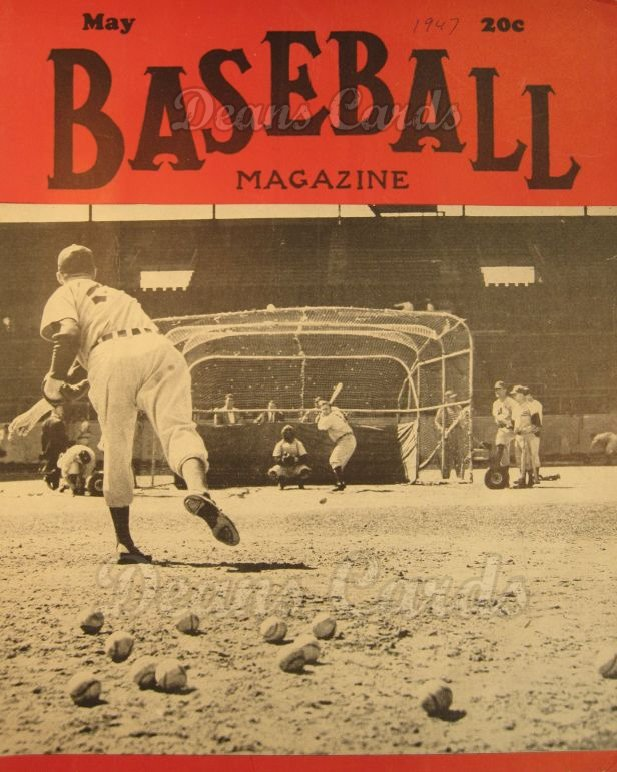 1947 Baseball Magazine    May