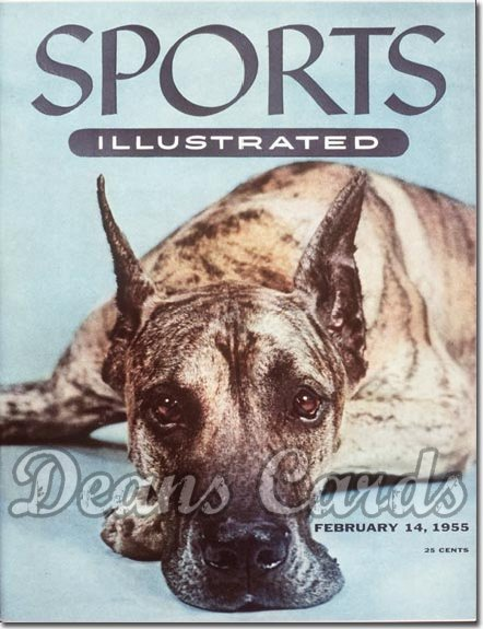 1955 Sports Illustrated   February 14  -  Great Dane
