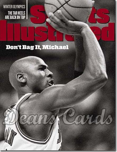 1998 Sports Illustrated   February 16  -  Michael Jordan Chicago