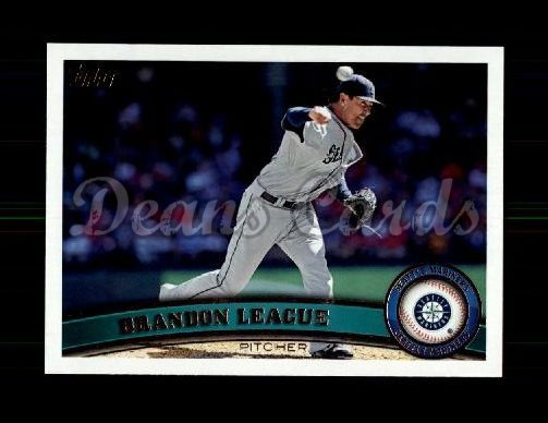2011 Topps Update #197  Brandon League