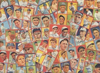 1935 Goudey Reprint    Goudey 4-in-1 Reprint Complete Set