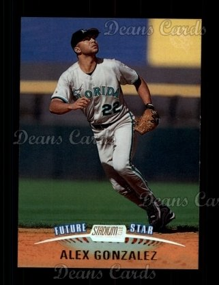 1999 Topps Stadium Club #164  Alex Gonzalez