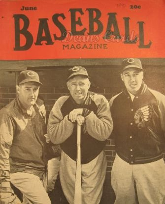 1940 Baseball Magazine    June