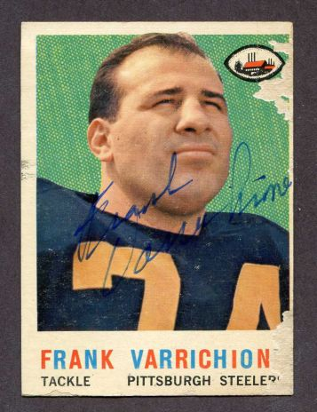 1959 Topps #119  Frank Varrichione
