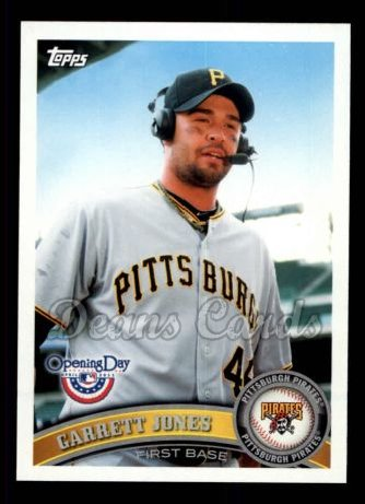 2011 Topps Opening Day #78  Garrett Jones