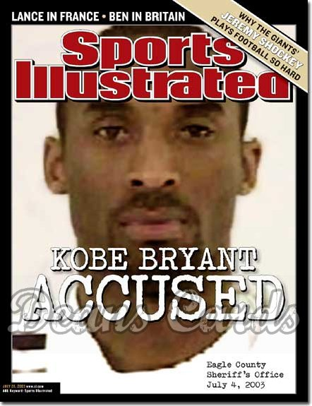 2003 Sports Illustrated - With Label   July 28  -  Kobe Bryant (LA Lakers)