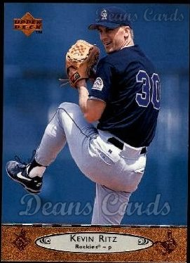 1996 Upper Deck #324  Kevin Ritz