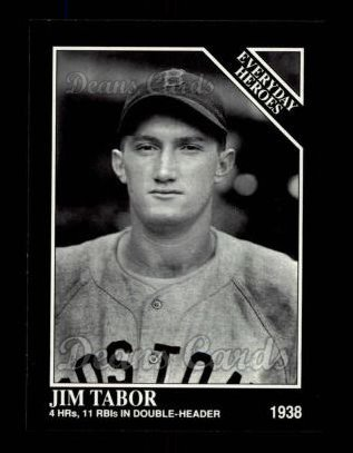 1992 Conlon #542   -  Jim Tabor Everyday Heroes