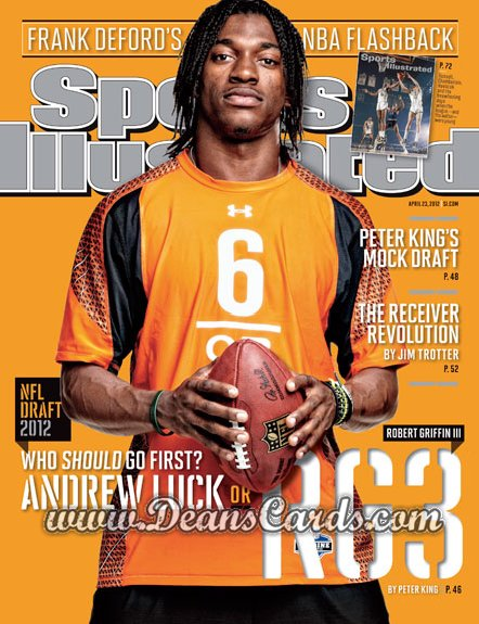 2012 Sports Illustrated   April 23  - RobertGriffinIII/NFLDraft