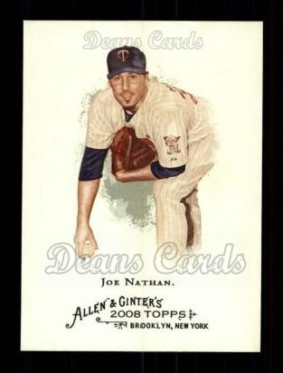 2008 Topps Allen & Ginter #281  Joe Nathan