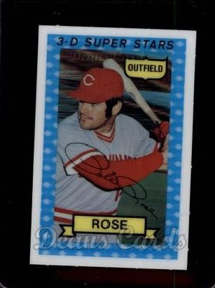 1974 Kellogg's #38  Pete Rose