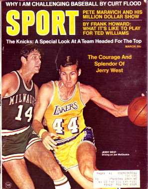 1970 Sport Magazine   -  Jerry West  March