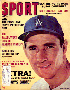 1965 Sport Magazine   -  Sandy Koufax  May