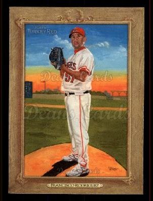 2007 Topps Turkey Red #111  Francisco Rodriguez