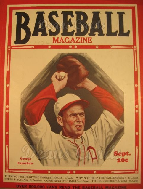 1932 Baseball Magazine    September