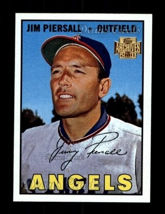 2001 Topps Archives #125   -  Jimmy Piersall 67 Topps