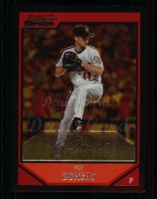 2007 Bowman Chrome #55  Roy Oswalt