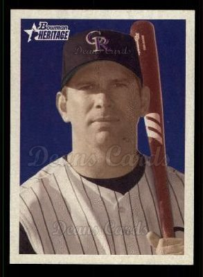 2006 Bowman Heritage #80  Todd Helton