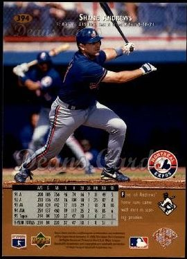 1996 Upper Deck #394  Shane Andrews