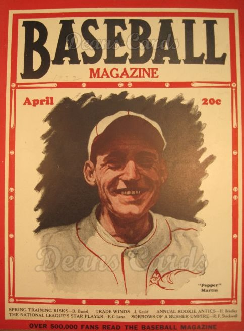 1932 Baseball Magazine    April