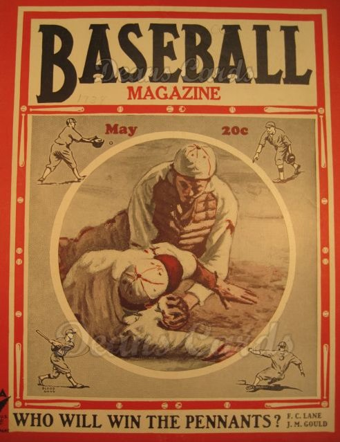 1934 Baseball Magazine    May