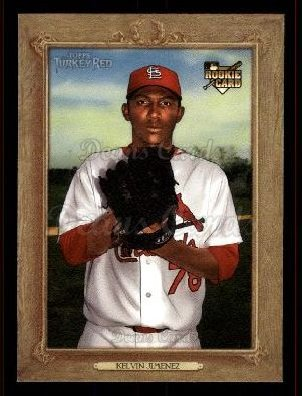2007 Topps Turkey Red #172  Kelvin Jimenez