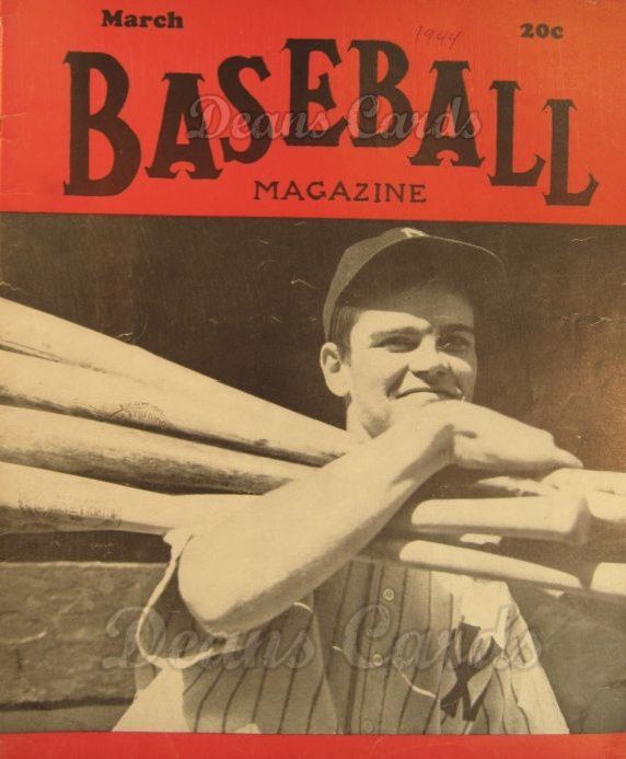 1944 Baseball Magazine    March