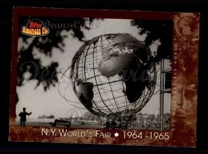 2001 Topps American Pie #119   N.Y. World's Fair