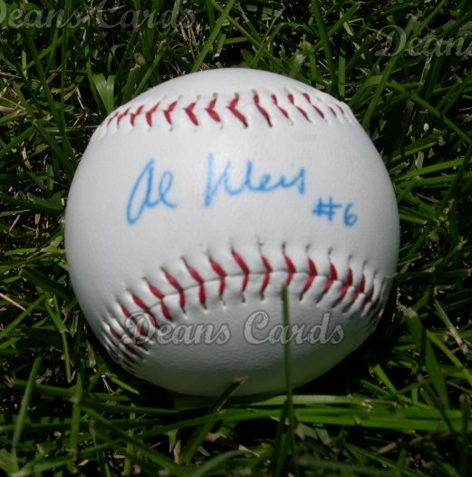 Al Weis Autographed Ball - 1969 Mets