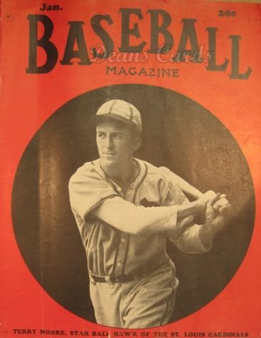 1940 Baseball Magazine    January