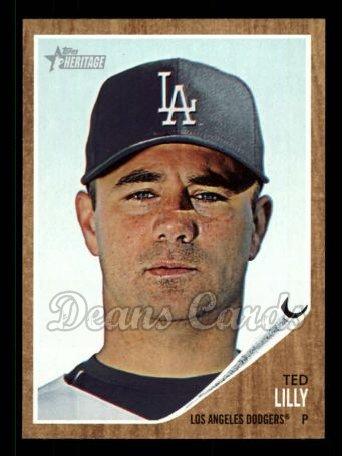 2011 Topps Heritage #109  Ted Lilly
