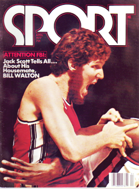 1977 Sport Magazine   -  Bill Walton  April