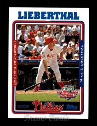 2005 Topps Opening Day #13  Mike Lieberthal