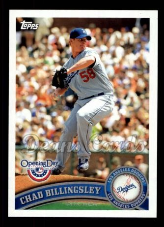 2011 Topps Opening Day #163  Chad Billingsley