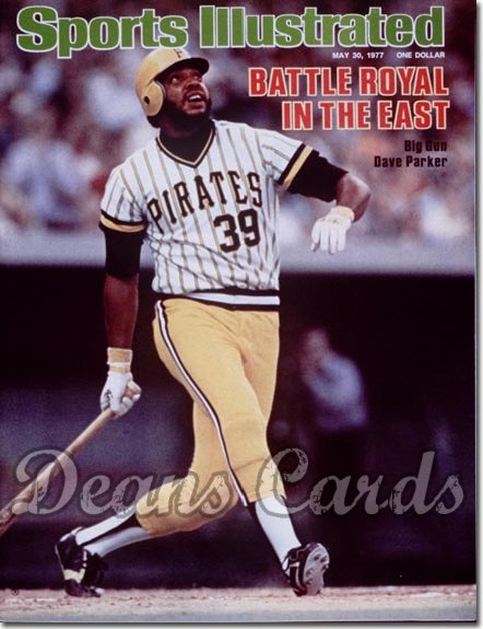 1977 Sports Illustrated - With Label   May 30  -  Dave Parker (Pittsburgh Pirates)