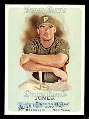 2010 Topps Allen & Ginter #136  Garrett Jones
