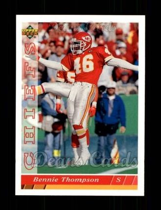 1993 Upper Deck #456  Bennie Thompson