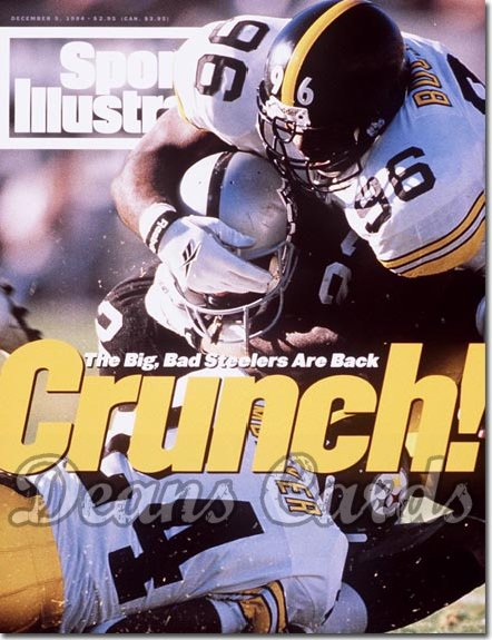 1994 Sports Illustrated - With Label   December 5  -  Pittsburgh Steelers Defense