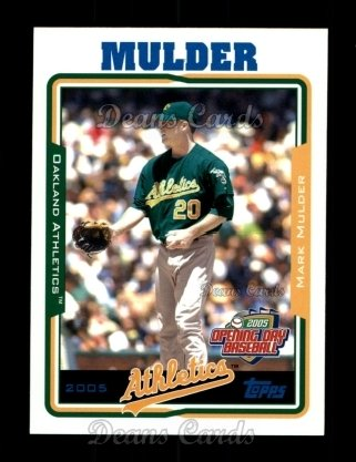 2005 Topps Opening Day #23  Mark Mulder