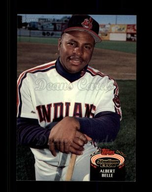 1992 Topps Stadium Club #220  Albert Belle