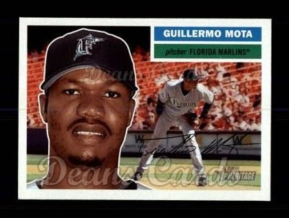 2005 Topps Heritage #281  Guillermo Mota